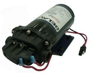 Delavan PowerFLO 7812-201-SB Diaphragm Pump 12V 60 PSI 2.0 GPM On Demand