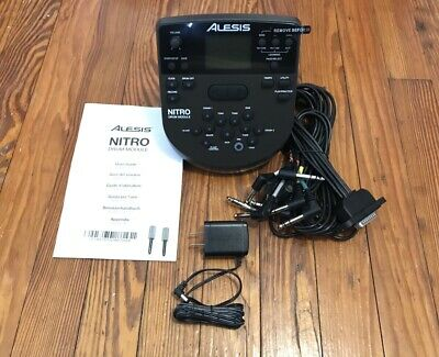Alesis Nitro Module w/Snake Cable & Power Supply NEW Drum Kit Wiring Harness