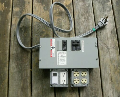 Sunlight Supply 30 amp timer box 4 light controller EXTRAS