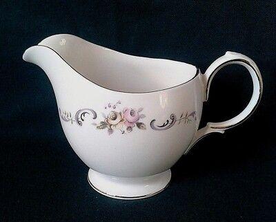GAINSBOROUGH CHINA MILK JUG FINE BONE CHINA TEA SET CREAMER PINK & YELLOW ROSES for sale  Shipping to Ireland