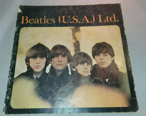 The Beatles USA Ltd Tour Program Book 1965