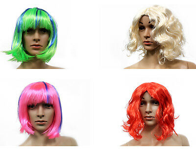 Burlesque Halloween Hair (Costume Halloween Wigs, Synthetic Hair Cosplay Short and Long Hair Accessories)