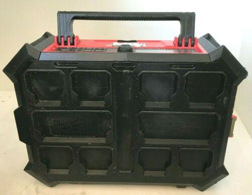 Milwaukee 2950-20 M18 PACKOUT Bluetooth Radio Speaker, V.G