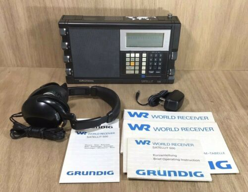 Grundig Satellit 500 World Receiver Radio
