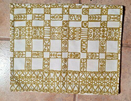 "6 HARWOOD STEIGER LUNCHEON MATS - SPANISH IRON PATTERN - 13""¾"" x17""¾"" (2 PRINTS)"