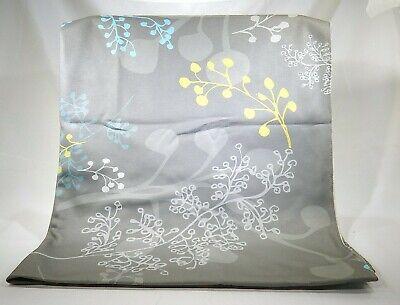"Dog Blanket Ferns Vines Green Brown Aqua 40"" x 30"" T3"