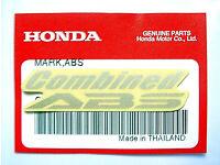 ORIGINAL Honda Aufkleber-Schriftzug-5cm-Sticker-Logo-Windscreen-Repsol-S//Orange