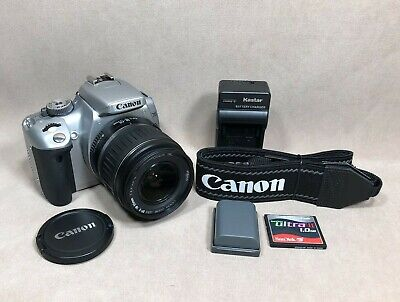 Canon EOS Digital Rebel XTi / EOS 400D 10.1MP Digital SLR Camera - Silver