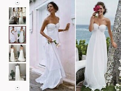 NWT(Make offer) Galina Wedding Dress And Veil With Comb