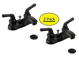 2-Pack-Designers-Impressions-Oil-Rubbed-Bronze-Bathroom-Vanity-Faucet-652369