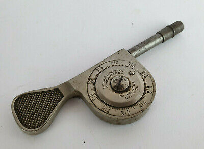 Vintage The L.S.Starrett Co.~ Machinist Speed Indicator ~ Athol Mass. U.S.A.