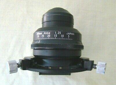 Nikon Labophot 2 Microscope Condenser Assembly
