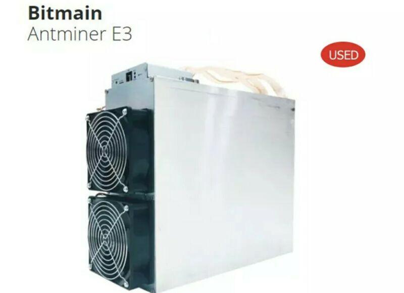 Bitmain Antminer E3 190MH/s ETH Miner with 1800 watt PSU Power Supply