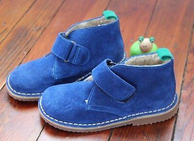 * Mini Boden * Desert Boots Wildleder Blau Gr. 30 NEU