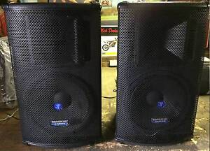 "Mackie SA1521 Active 15"" 2-Way Speakers 500 watts rms Very loud Coburg Moreland Area Preview"