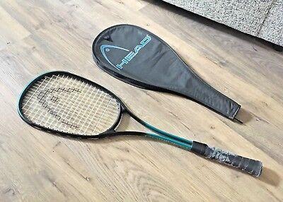 HEAD Dominion Squash Racket- With Case- Older Model- Read Description- Rare