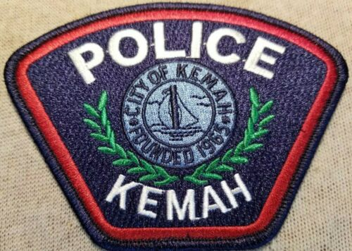 TX Kemah Texas Police Patch