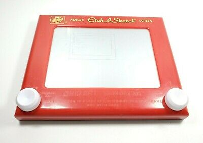 """Magic Etch A Sketch 9"""" Ohio Art Classic Vintage Toy Works Great #505"""