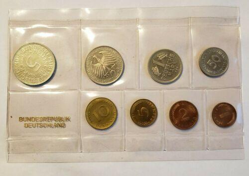 Federal Republic of Germany • 1969 J • Proof Set • PS 16 • Hamburg Mint