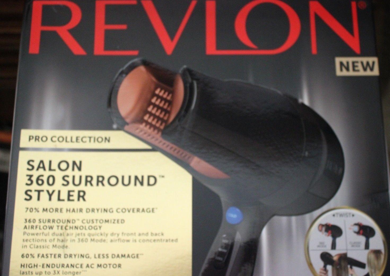 New Revlon Pro Salon 360 Surround Hair Dryer and Styler CERA