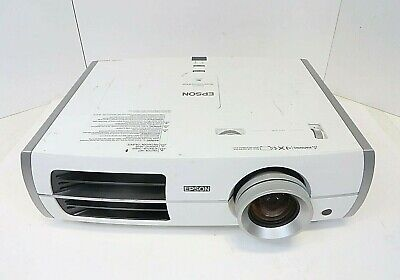 Epson Powerlite Home Cinema 8350 / H373A / 3LCD Projector + Lamp w/ Few Hours