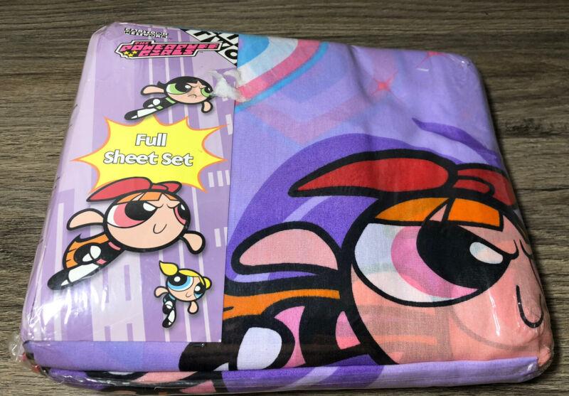 Powerpuff Girls Full Bed Sheet Set 4 Pieces