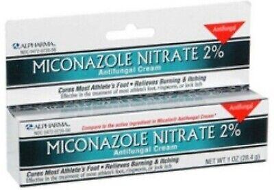 Miconazole Nitrate 2% Antifungal Cream 1 oz - 1 (Miconazole Nitrate 2% Antifungal)