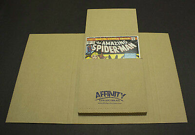 25 Gemini Comic Book Flash Mailers - Most Comicgraphic Novels Sizes - Tx