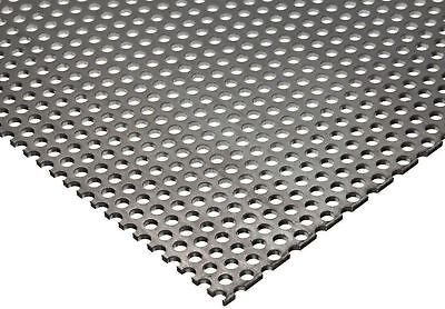 Perforated Stainless Steel Sheet 20 Ga. X 24 X 48 18 Holes 316 Centers