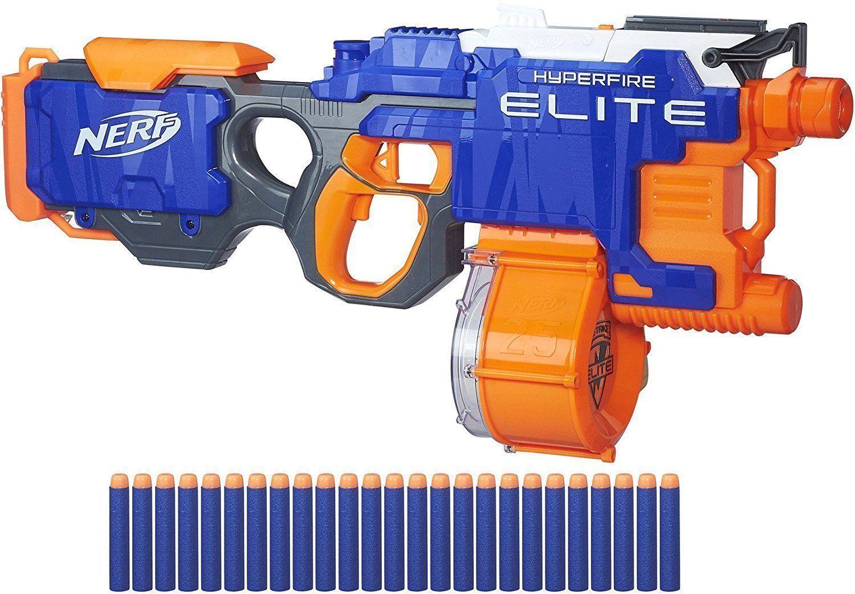 Spielzeug-Bogen, -Armbrust & -Dart Hasbro NERF B5573 HYPER Fire Blaster N-strike Elite günstig kaufen