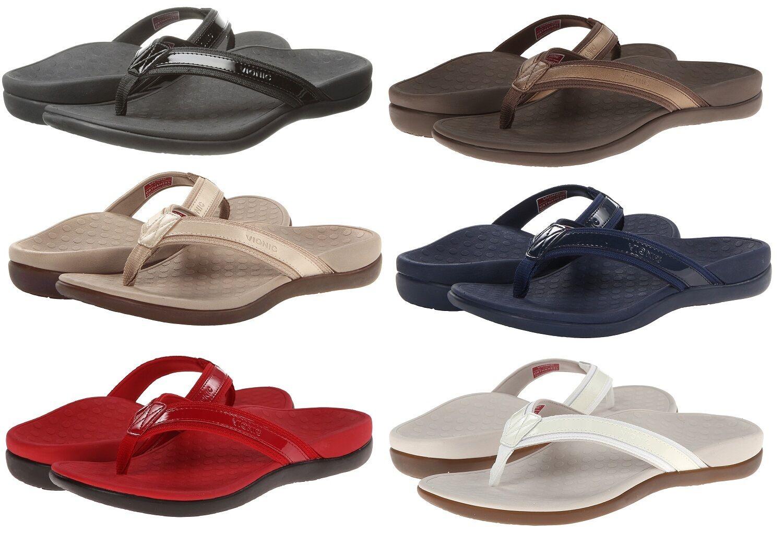 0ce857ac5b79c1 Vionic Orthaheel Tide II Toe Post Women Orthotic Arch Support Flip Flop  Sandals 아이템 넘버  361308543649.