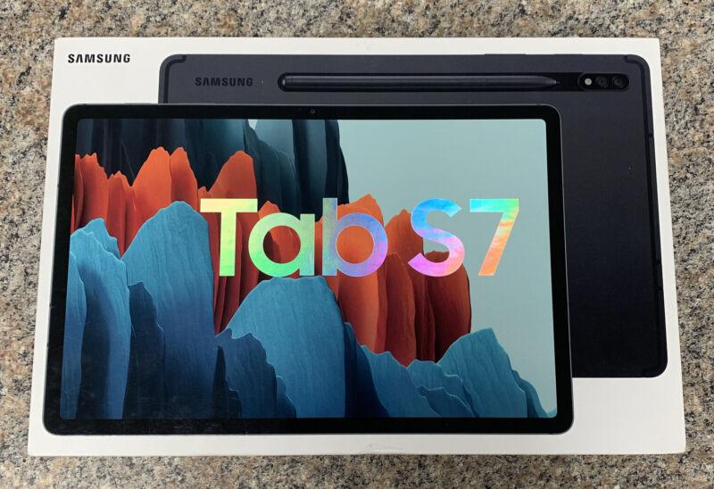 Samsung Galaxy Tab S7 128GB, Wi-Fi, 11 in - Mystic Black
