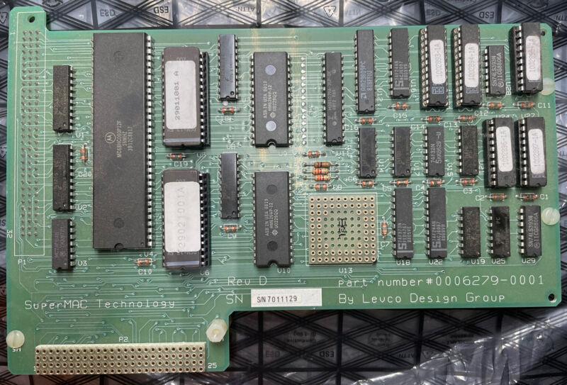 0006279-0001 | SUPERMAC SpeedCard for Macintosh SE 16MHz 68000 Accelerator Card