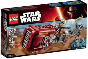LEGO 75099: Rey's Speeder STAR WARS Retired Brand new