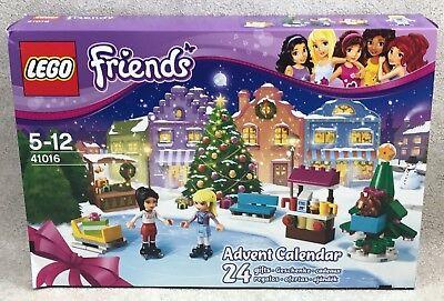 Lego Friends Advent Calendar 41016 Open Box Complete Christmas Countdown 2013