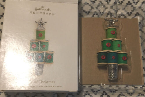 Hallmark Notions Of Christmas - Ornament 2007 Thimble Tree!