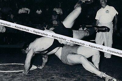 Ringen : Wilfried Dietrich - Olympiateilnehmer - um 1960 - O 14-1