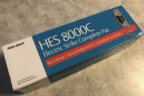 HES 8000C-12/24D-630 Electric Strike Complete Pac , Free Shipping!!!