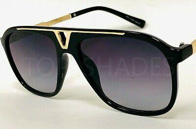 Fashion Designer Miami Style Black Tortoise Shades Men Women Sunglasses (Tortoise Glasses Men)