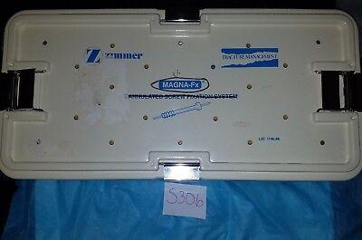 Zimmer Magna-fx Full Tray System No Instruments Or Screws