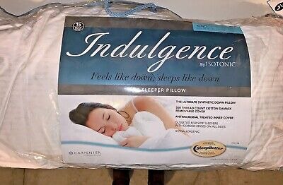 Isotonic® Indulgence™ Synthetic Down Alternative King Side Sleeper Pillow