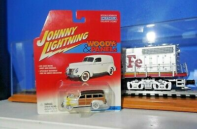 Johnny WHITE Lightning  Woodys & Panels 41 Chevy Special Deluxe Wagon