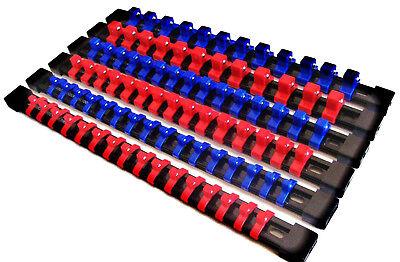 6 Goliath Industrial Abs Mountable Socket Rail Rack Holder Organizer 1 4 3 8 1 2