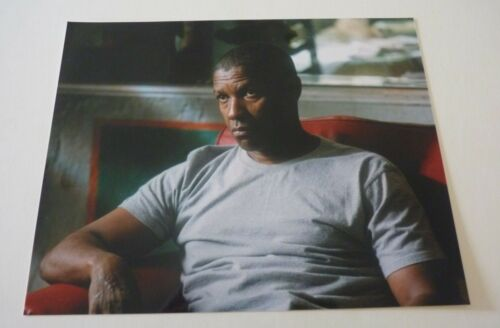 Denzel Washington Movie Actor Sexy 8x10 Color Promo Photo