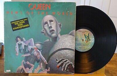 Queen News Of The World Australian Press Vinyl LP