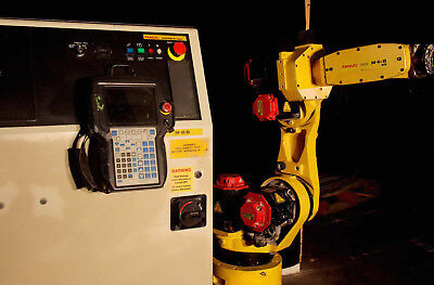 Fanuc M6ib 6s Robot With Rj3ic Control Low Hours Tested Industrial Robotic