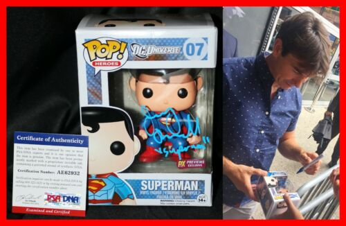 🔥 RARE JERRY O'CONNELL SIGNED AUTOGRAPHED SUPERMAN FUNKO POP PSA JSA COA 🔥