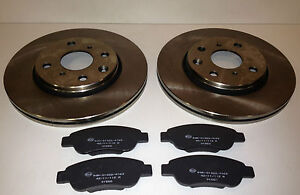 PEUGEOT 107 1.0 i  FRONT BRAKE PADS AND DISCS VENTED 2005- ON