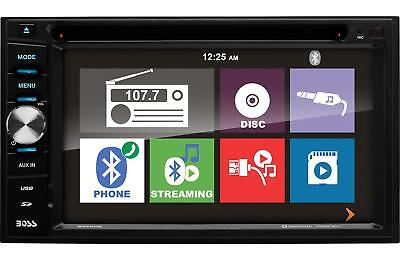 "Boss BV760B Double Din Car DVD/CD/MP3 /iPhone/USB/Bluetooth Receiver Player 6.2"""
