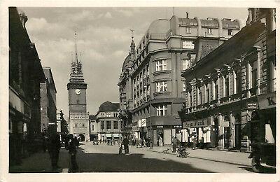 RPPC Postcard Pardubitz Pardubice Czech Republic Posted WWII